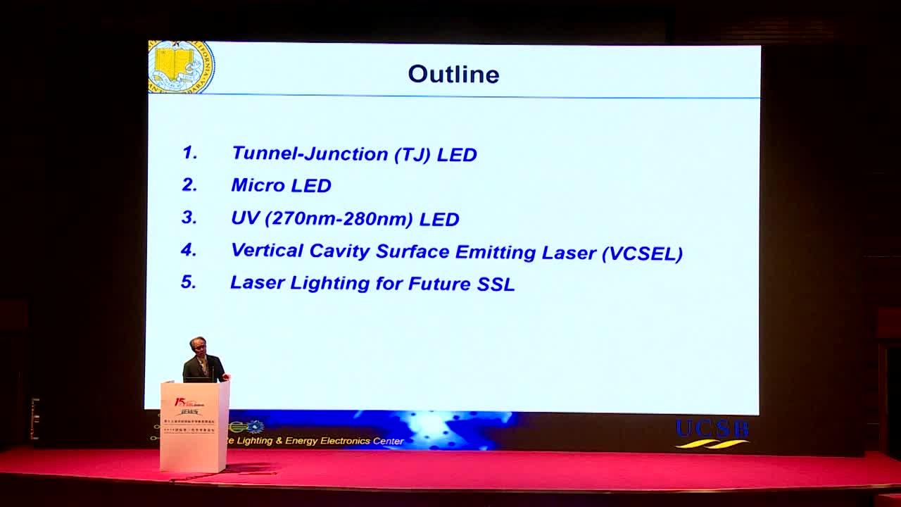 【视频报告 2018】诺奖得主中村修二:LED现状与未来半导体照明