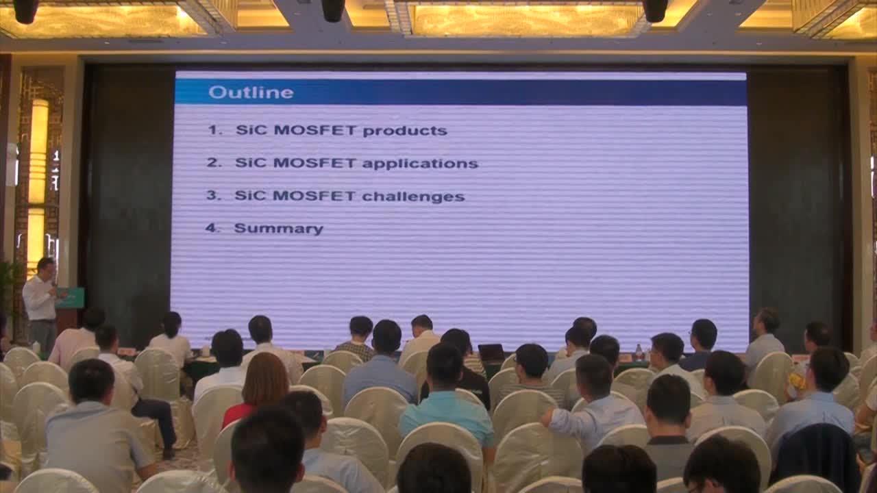 视频报告 2018 |香港应科院高级经理刘学超:碳化硅MOSFET在新能源汽车中的应用